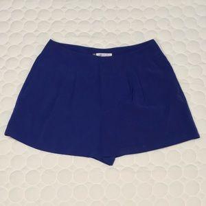 Jennifer Lopez Cobalt Blue Shorts